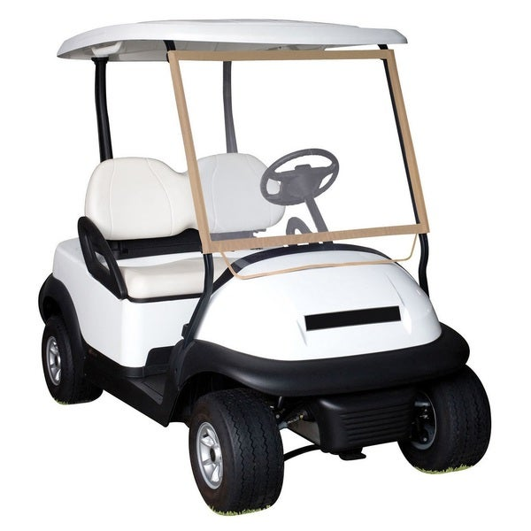 Classic Accessories Portable Deluxe Golf Cart Windshield