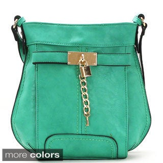 Chasse Wells Deverrouiller Votre Reve Faux Leather Cross-body Handbag