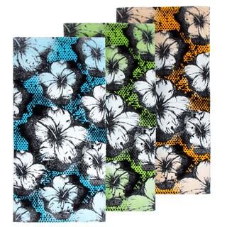 Foil Hibiscus 3-piece Beach Towel Set