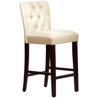 Made to Order Off-white Tufted Mor Bar Stool