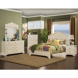 Sandberg Furniture White Jardin Bed