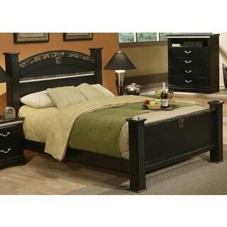 Sandberg Furniture La Jolla Morena Black Estate Bed
