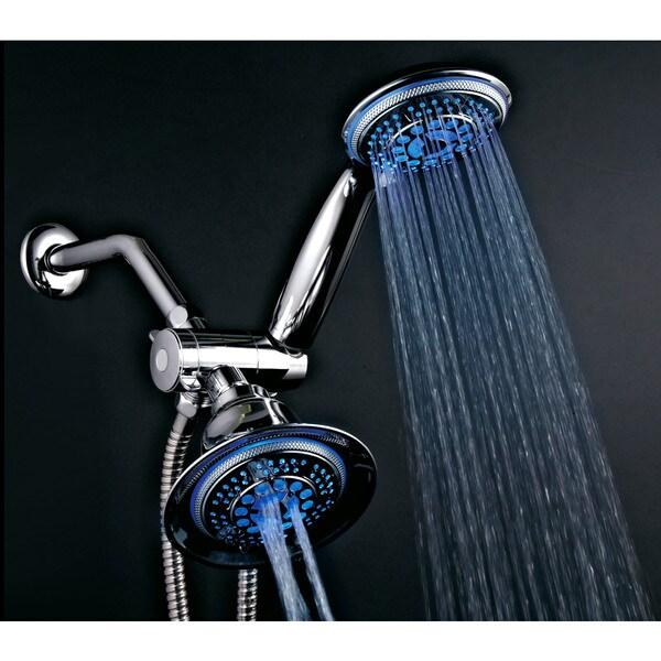 Dreamspa Temperature Sensitive LED Combination Shower Head