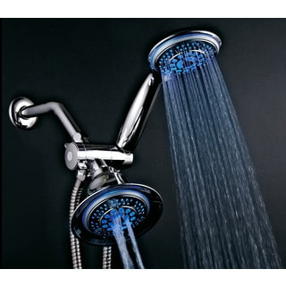 Dreamspa Temperature Sensitive LED Combination Shower Head