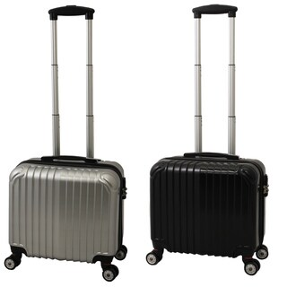 World Traveler 16-inch Carry On Hardside Spinner Overnighter Tote Bag With TSA Lock