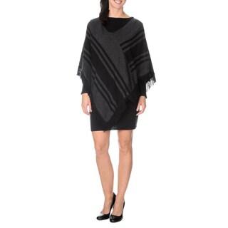 Lennie for Nina Leonard Women's Diagonal Stripe 2-pc Dress