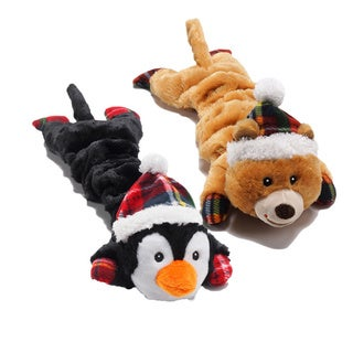 Charming Pet Products Merry Stretchmas Dog Toys