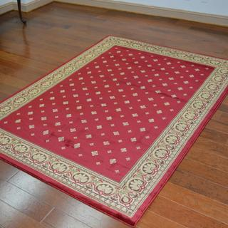 Traditional Oriental Red Area Rug (6'7 x 9'6)