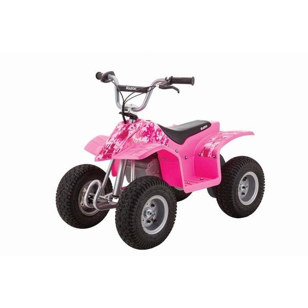 Razor Pink/ Black Electric Dirt Quad