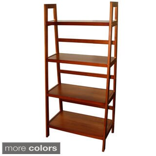 4-tier Wooden Ladder Shelf