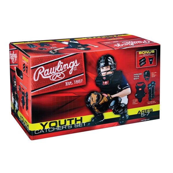 Rawlings Baseball Youth Catchers Set (Age 5 to 7)