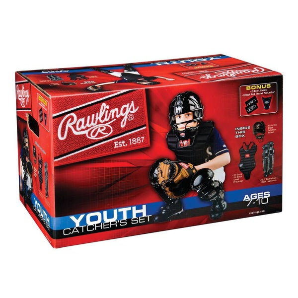 Rawlings Baseball Youth Catchers Set (Age 7 to 10)