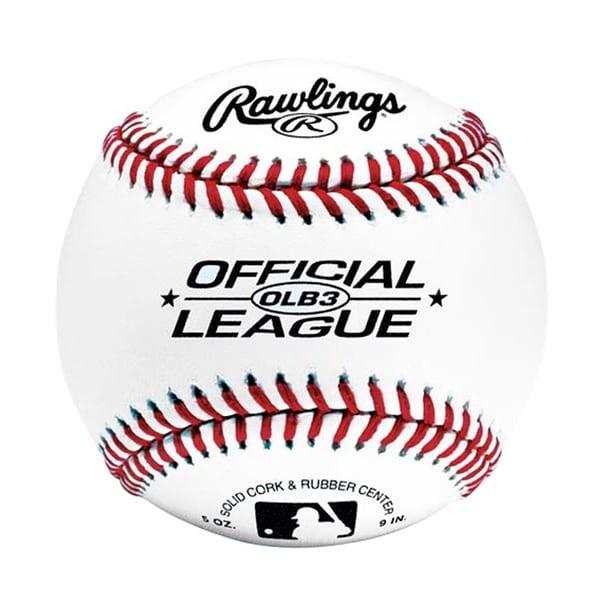Rawlings OLB3 Balls in Bucket (2 dozen)