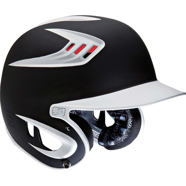 Rawlings S80 Two-Tone Black Senior Helmet