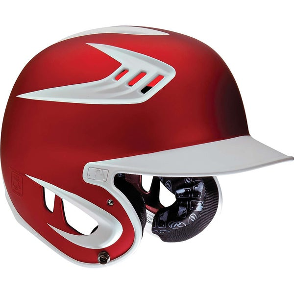 Rawlings S80 Two-Tone Senior Scarlet Helmet