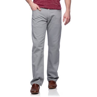 Levi's Men's 514 Grey Twill Soft Washed Slim-straight Jeans