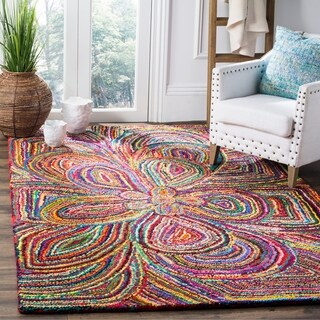 Safavieh Hand-Tufted Nantucket Multi Cotton Rug (5' x 8')