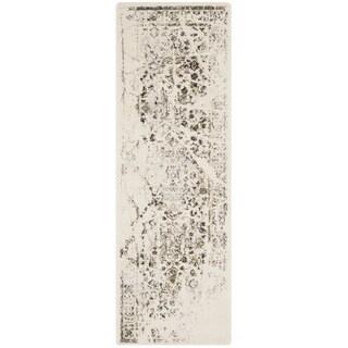 Safavieh Porcello Ivory/ Light Grey Rug (2'4 x 6'7)
