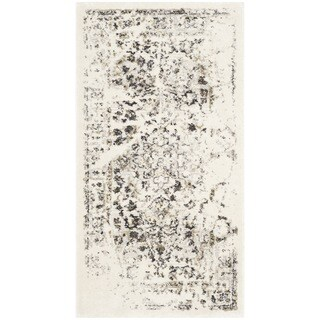 Safavieh Porcello Ivory/ Light Grey Rug (2' x 3'7)