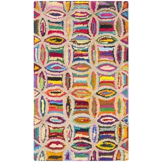 Safavieh Hand-Tufted Nantucket Multi Cotton Rug (2'3 x 4')