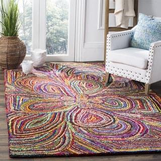 Safavieh Hand-Tufted Nantucket Multi Cotton Rug (6' Square)
