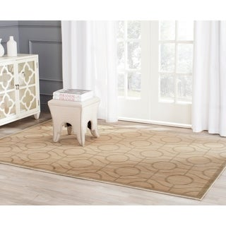 Safavieh Infinity Yellow/ Green Polyester Rug (9' x 12')
