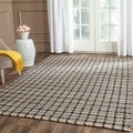 Safavieh Hand-Woven Cape Cod Grey/ Natural Jute Rug (4' x 6')