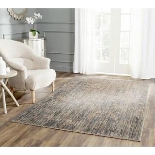 Safavieh Infinity Beige/ Grey Polyester Rug (9' x 12')