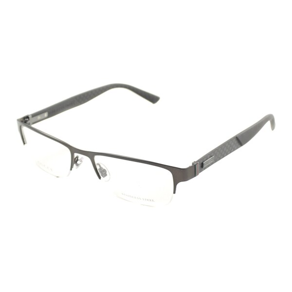 Gucci Eyeglass Frames Mens : Gucci Mens GG 2250 4VJ Semi-rimless Eyeglasses ...