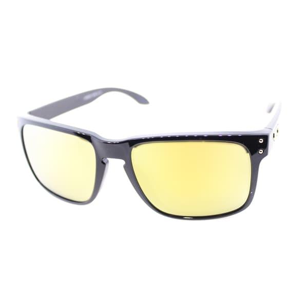 Oakley Men's Shuan White Signature 'Holbrook' Sunglasses