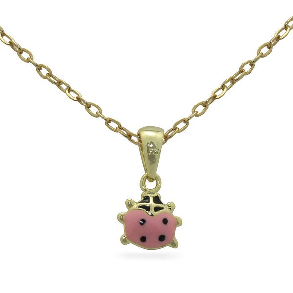 Junior Jewels Enamel Ladybug Pendant 14255763