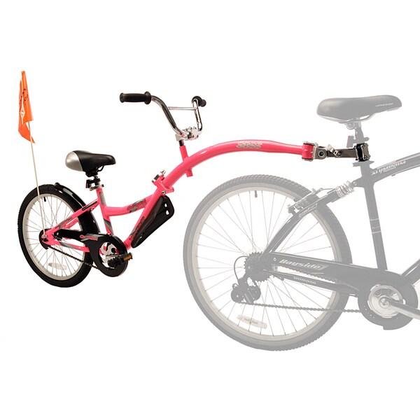 Kent WeeRide Co-Pilot Pink Bike Training Trailer