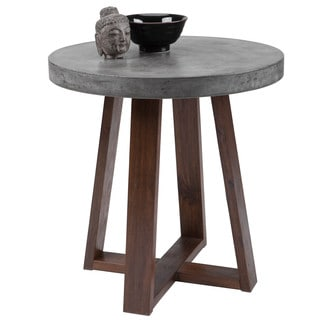 Sunpan 'MIXT' Devons Concrete End Table