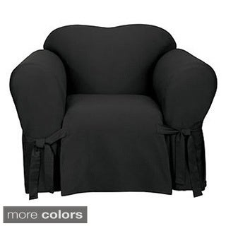 Sure Fit Canvas Chair Slipcover