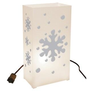 Electric Snowflake Luminaria Kit (Set of 10)