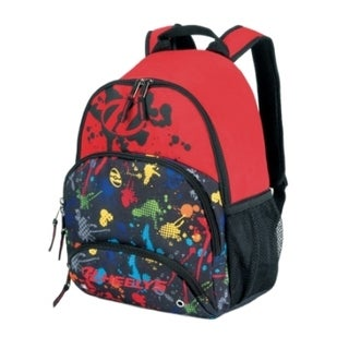Heely's Multi-Colored Splatter Bandit Backpack