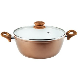Alpine Heavy-gauge Aluminum 6-quart Ceramic Induction Dutch Oven