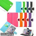 Gearonic PU Leather Wallet Flip Case Cover for Apple iPhone 6 Plus 5.5