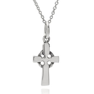 Tressa Collection Sterling Silver Celtic Cross Pendant