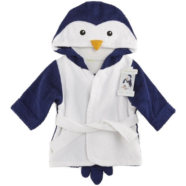 Baby Aspen Wash and Waddle Penguin Hooded Spa Robe