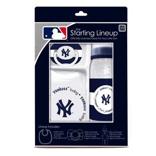 Baby Fanatic MLB New York Yankees 3-piece Baby Gift Set