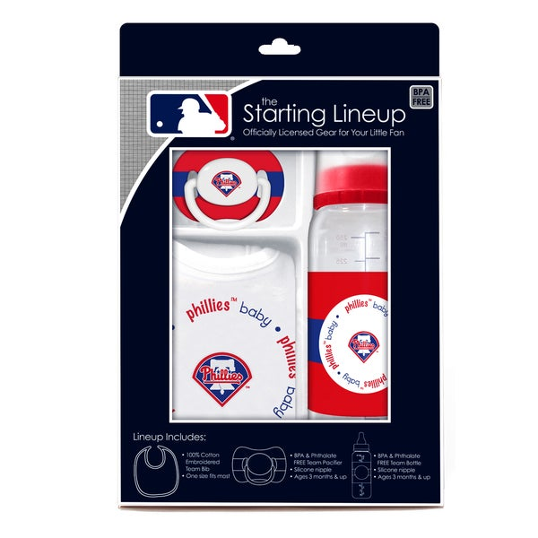 MLB Philadelphia Phillies 3-piece Baby Gift Set 14256546