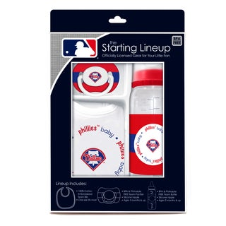 MLB Philadelphia Phillies 3-piece Baby Gift Set