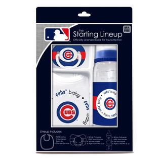 Baby Fanatic MLB Chicago Cubs 3-piece Baby Gift Set