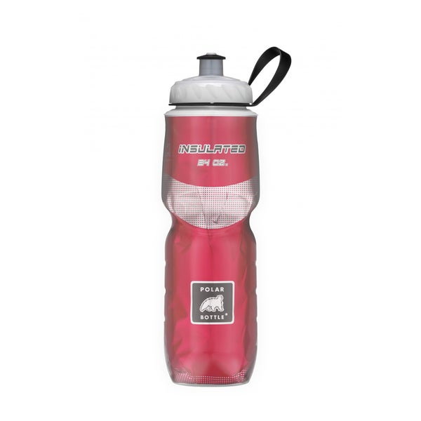 Polar 24-Ounce Water Bottle - Red