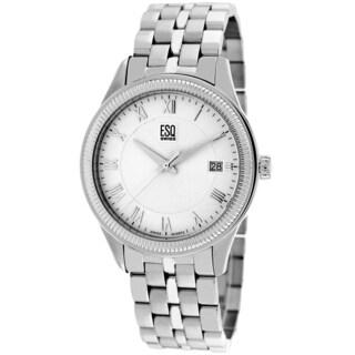 ESQ Men's 7301280 Harrison Silvertone Watch