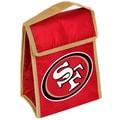 Forever Collectibles San Francisco 49ers Big Logo Velcro Lunch Bag