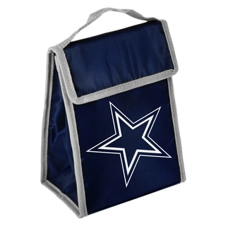 Forever Collectibles NFL Dallas Cowboys Big Logo Velcro Lunch Bag