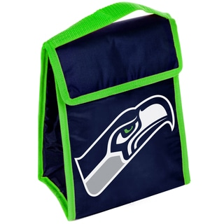 Forever Collectibles Seattle Seahawks Big Logo Velcro Lunch Bag