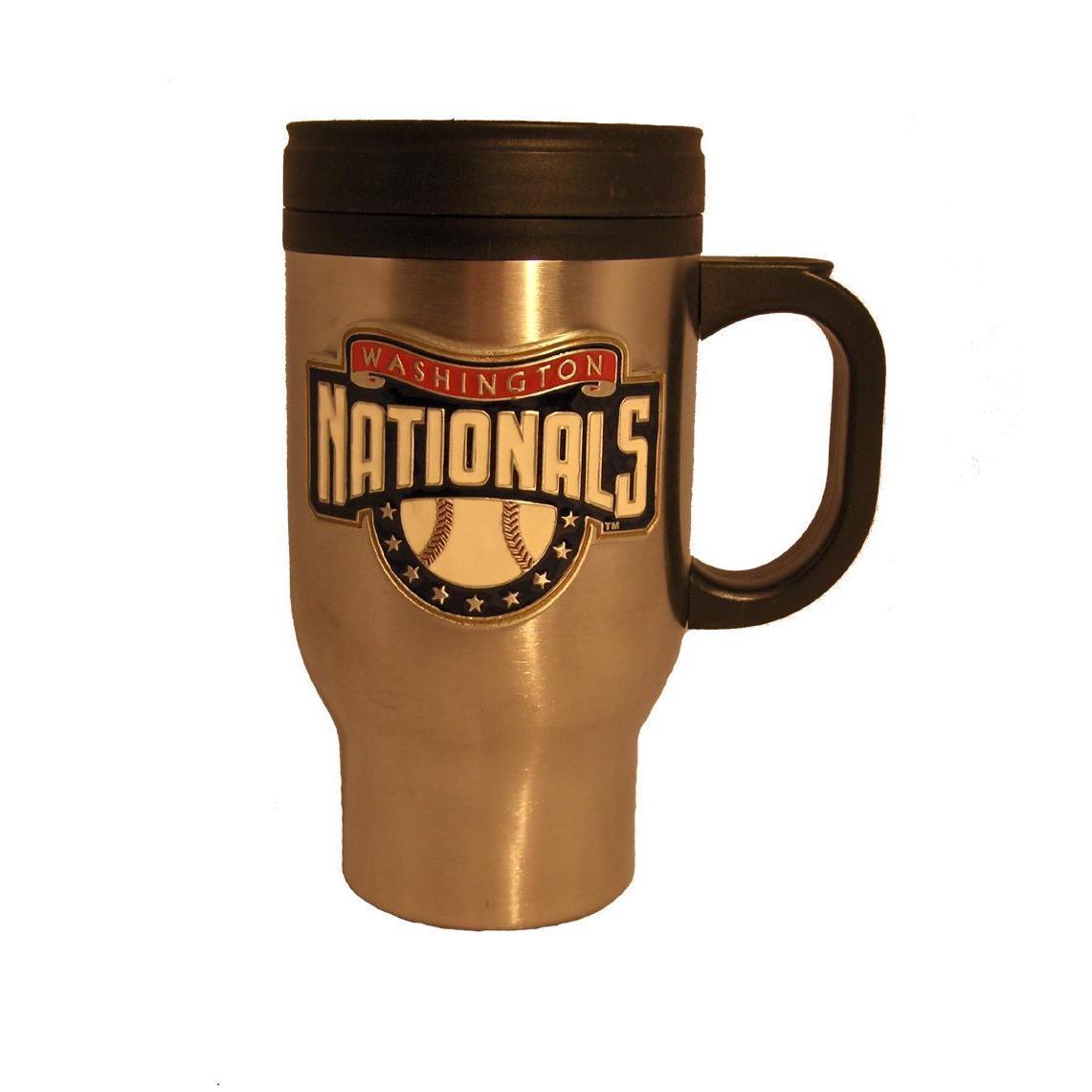 Overstock.com Washington Nationals Stainless Steel Travel Coffee Mug